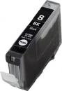 Alternativ Canon Patronen CLI-8BK mit Chip