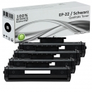4x Alternativ Canon Toner EP-22 Schwarz Set