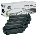 Set 4x Alternativ Canon Toner EP-27 Schwarz