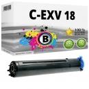 Alternativ Canon Toner C-EXV 18 Schwarz