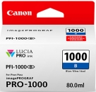 Original Canon Patronen PFI-1000B Blau