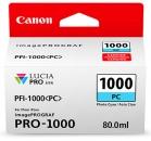 Original Canon Patronen PFI-1000PC Fotocyan