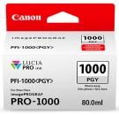 Original Canon Patronen PFI-1000PGY Fotograu