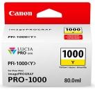 Original Canon Patronen PFI-1000Y Gelb