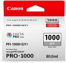 Original Canon Patronen PFI-1000GY Grau