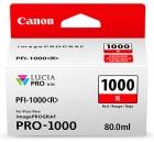 Original Canon Patronen PFI-1000R Rot