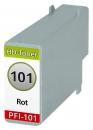 Alternativ Druckerpatronen Canon PFI-101R 0889B001 Rot