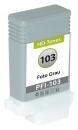 Alternativ Druckerpatronen Canon PFI-103PGY 2214B001 Fotograu