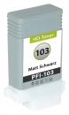 Alternativ Druckerpatronen Canon PFI-103MBK 2211B001 Mattschwarz