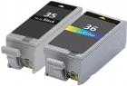 Alternativ Canon Druckerpatronen PGI-35 + CLI-36 Set