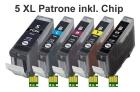 Alternativ Tintenpatrone CANON PGI-5bk + CLI-8