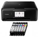 Canon PIXMA TS 8150 Multifunktionsdrucker inkl. 6 XXL Patronen