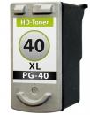 XXL Druckerpatronen CANON PG-40 Alternativ Schwarz