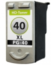 XXL Patronen Canon PG-40 Alternativ Schwarz