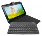 Ninetec Bluetooth Keyboard Case für 10 Zoll Tablets
