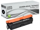 Alternativ HP Toner 651A CE340A Schwarz