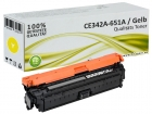 Alternativ HP Toner 651A CE342A Gelb / Yellow