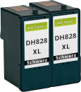Set 2x Alternativ Patronen Dell CH883/DH828 Schwarz