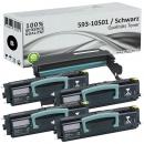 Set 4x Alternativ Dell Toner 593-10501 + Trommel 593-10338