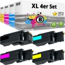 Set 4x Alternativ Dell Toner E525 Mehrfarbig