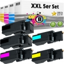 Set 5x Alternativ Dell Toner E525