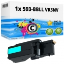 Alternativ Dell Toner 593-BBLL VR3NV Cyan