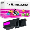 Alternativ Dell Toner 593-BBLZ WN8M9 Magenta