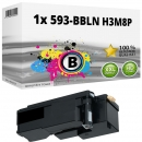 Alternativ Dell Toner 593-BBLN H3M8P Schwarz