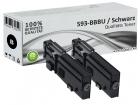 2x Alternativ Dell Toner RD80W 593-BBBU Schwarz