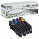 Alternativ Dell Toner 593-BBBx Mehrfarbig 4er Set