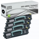 4x Alternativ Dell Toner K3756 593-10042 Schwarz Set