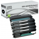 Set 4x Alternativ Dell Toner 593-10239 + Trommel  593-10241