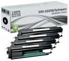 Set 4x Alternativ Dell Toner RP380 593-10239 Schwarz