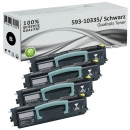4x Alternativ Dell Toner PK941 593-10335 Schwarz Set