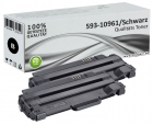 Set 2x Alternativ Dell Toner 2MMJP 593-10961 Schwarz