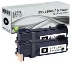 Alternativ Dell Toner 593-11040 Schwarz Doppelpack
