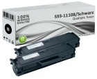Set 2x Alternativ Dell Toner HF44N 593-11108 Schwarz