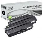 Set 2x Alternativ Dell Toner DRYXV 593-11109 Schwarz