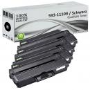 Set 4x Alternativ Dell Toner DRYXV 593-11109 Schwarz