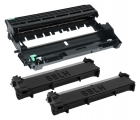 Alternativ Set Dell 2x Toner PVTHG + Trommel WRX5T