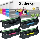 Alternativ HP Set 4x Toner 654X / CF330X CF331A CF332A CF333A
