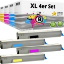 Alternativ Panasonic Toner KX-FAT 506 507 508 509 4er Set