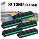 Alternativ Samsung Toner CLT-x504S 5er Sparset