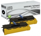 Set 2x Alternativ Epson Toner S050166 XL Schwarz