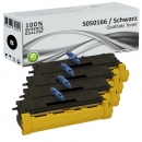 Set 4x Alternativ Epson Toner S050166 XL Schwarz
