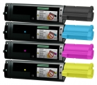 Set 4x Alternativ Epson Toner S050268