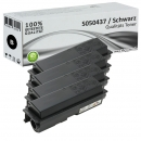 Set 4x Alternativ Epson Toner S050437 XL Schwarz