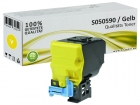 Alternativ Epson Toner S050590 Yellow/Gelb