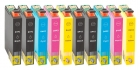 10 Alternativ Epson Patronen T0441 T0442 T0443 T0444