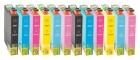 12 Alternativ Epson Patronen T0801 T0802 T0803 T0804 T0805 T0806